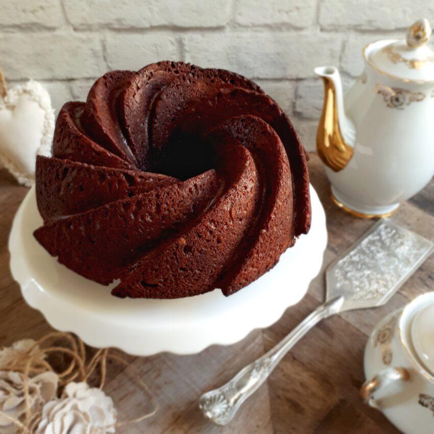BUNDT CAKE AL CIOCCOLATO E MASCARPONE