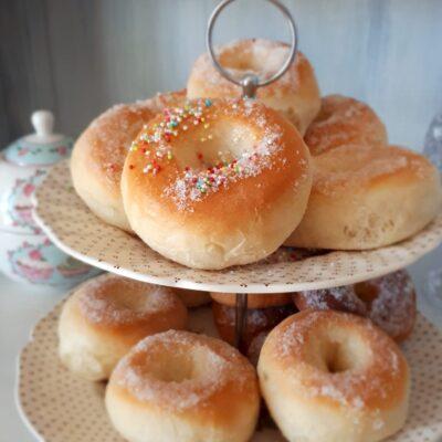 Donuts al forno Glassati